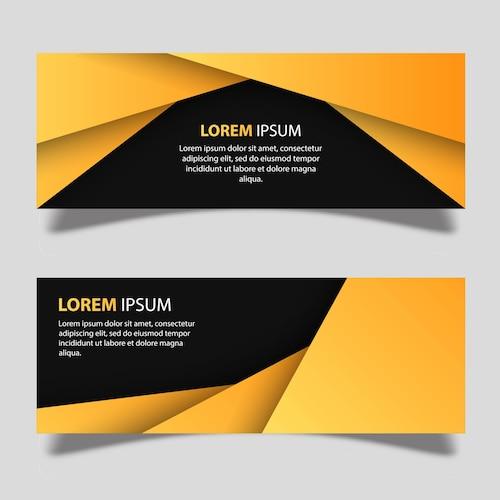 Vector Banner Designs Template