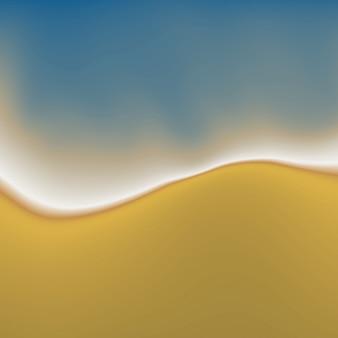 ベクトルビーチの砂と水の抽象絵画の背景