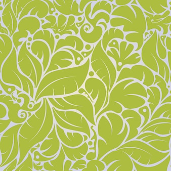 Vector beautiful seamless floral pattern background