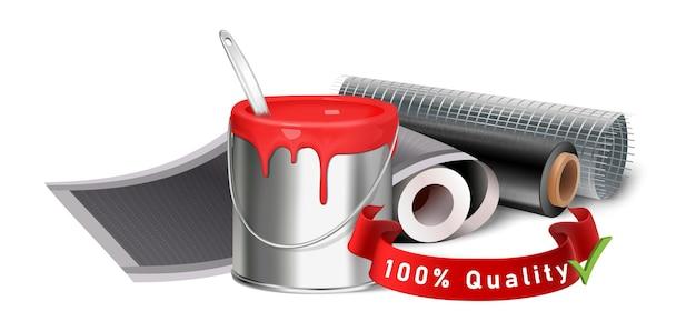 Вектор значок лучшего качества материалов
