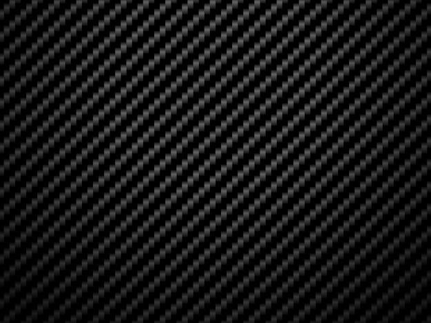 Vector black carbon fiber pattern background.