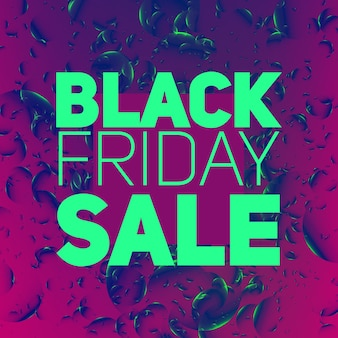 Vector black friday sale abstract