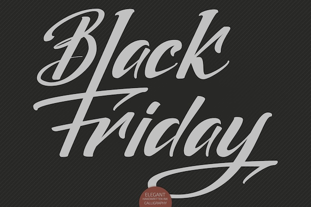 Вектор черная пятница продажа надписи