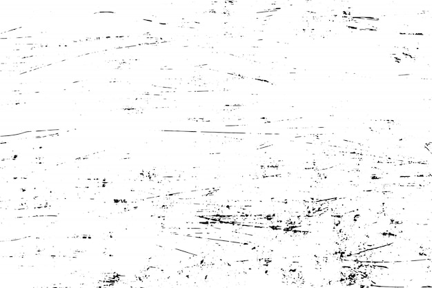 Vector black and white grunge texture background.