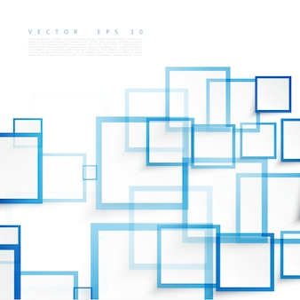 벡터 파란색 사각형입니다. 추상적 인 배경입니다.