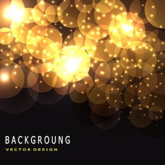 Vector bokeh background