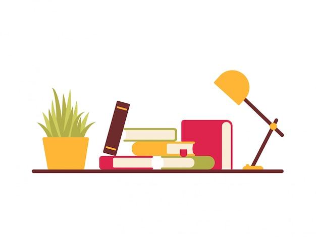 Vector bookshelf design