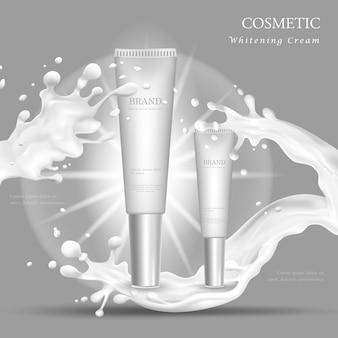 Vector bottle cream essence