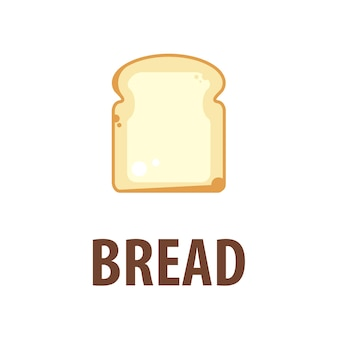 Vector bread logo