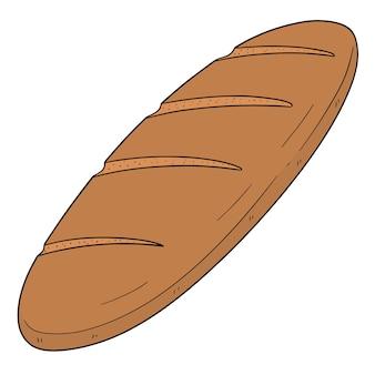 Vector of bread