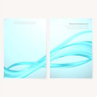 Векторная брошюра, шаблон листовки