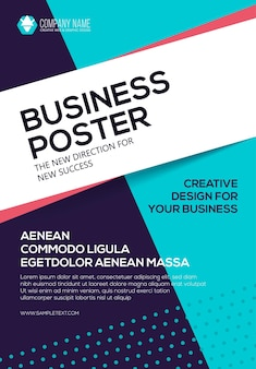 ベクトルビジネスポスター。チラシテンプレート。あなたのビジネスのためのポスター。表紙プレゼンテーション