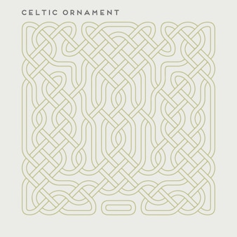 Vector celtic ornament