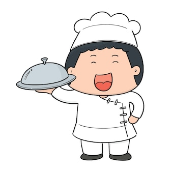 Vector of chef