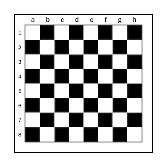 Vector chessboard conforms to standards
