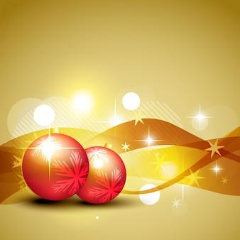 ベクトルクリスマスボール