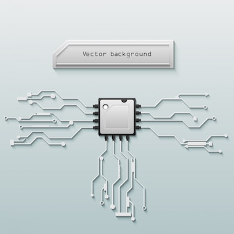 Vector circuit board background technology