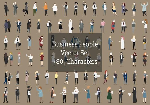 ビジネスマンのベクトルコレクション