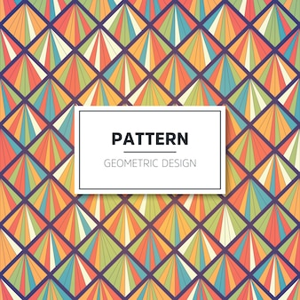 Vector color pattern. Geometric background