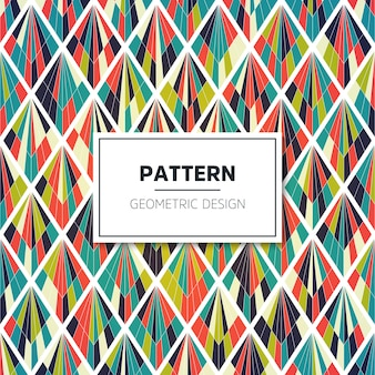 Vector color pattern