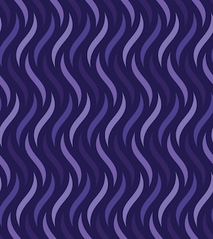 Vector color seamless wavy background texture
