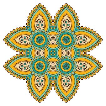 Vector colorful mandala