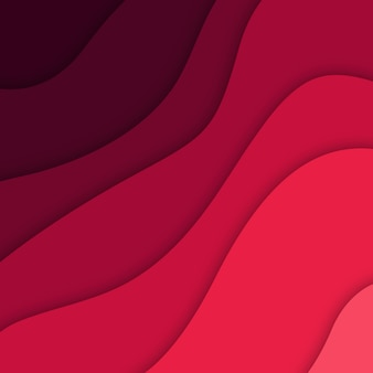 Vector colorful papercut background