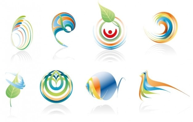 Vector colours spirals