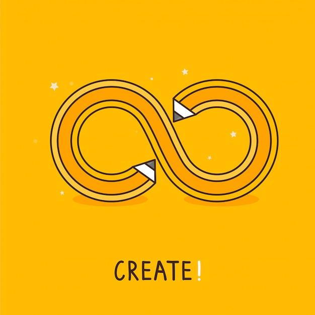 Vector creative concept