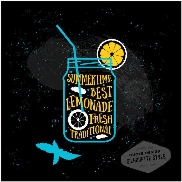 Vector creative quotes card design