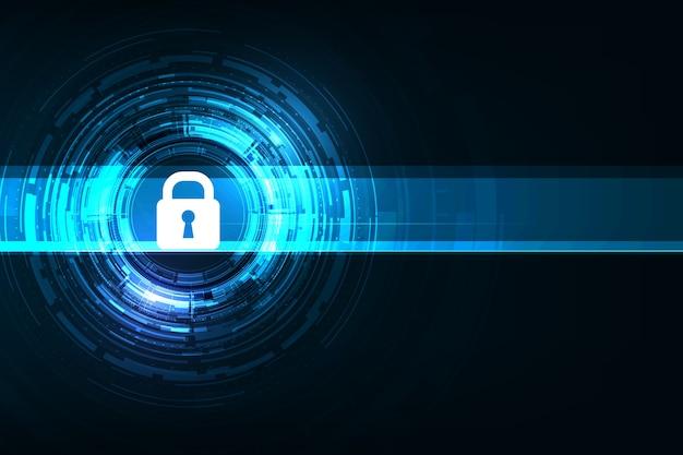 벡터 사이버 보안 디자인