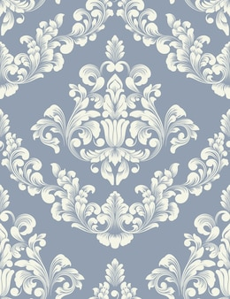 Vector damask element . classical luxury old fashioned damask ornament, royal victorian seamless texture for wallpapers, textile, wrapping.