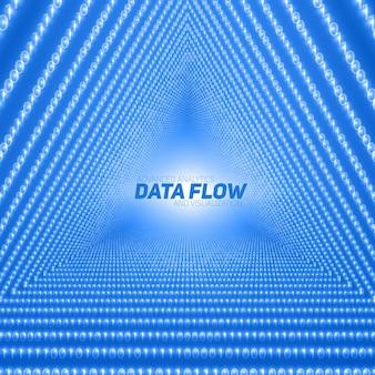 Visualizzazione del flusso di dati vettoriali