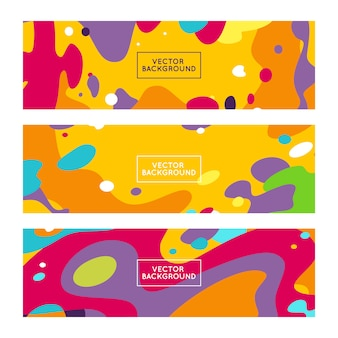 Vector decorative abstract backgrounds