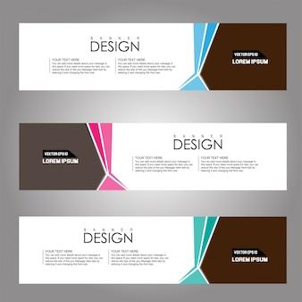 Vector design banner