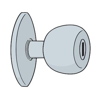 Vector of door knob