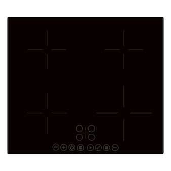 Vector electric cooker, induction stove or hob