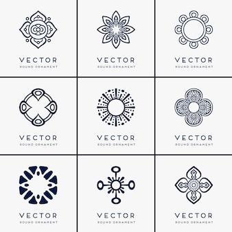 Vector ethnic mandala