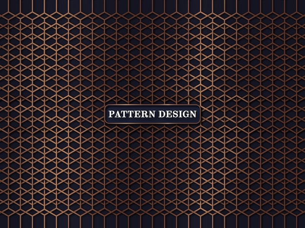Vector european floral pattern background