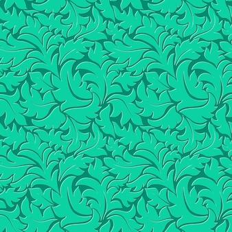 Векторные цветы бесшовные фоном картины. элегантная текстура для фона. классический роскошный старомодный цветочный орнамент, бесшовная текстура для обоев, текстиль, упаковка.