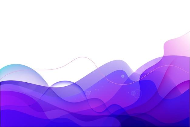 Vector geometric background liquid flow fluid background purple