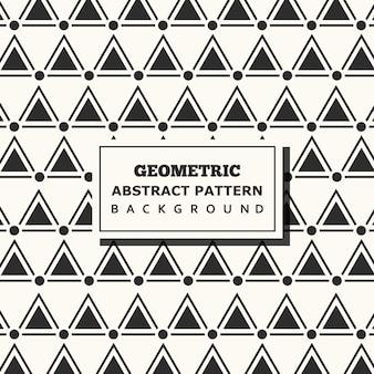 Vector geometric pattern background design