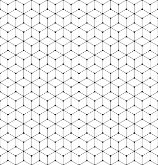 Vector geometric pattern grid texture with lines and dots.