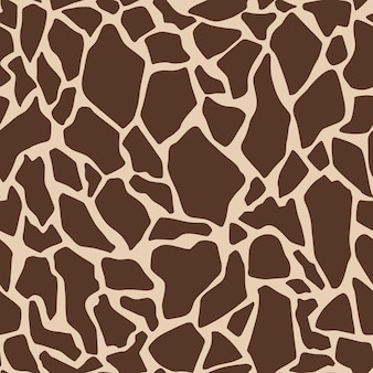 Vector giraffe print seamless pattern trendy color illustration for wallpaper fabric textile