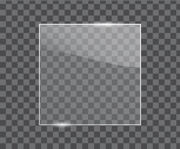 Vector glass frame
