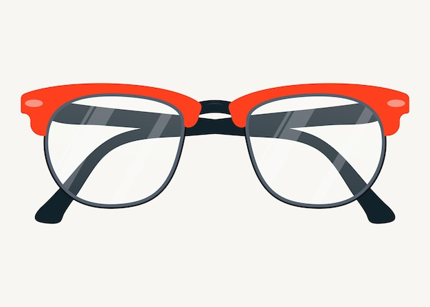 Vector glasses icon. eyeglasses