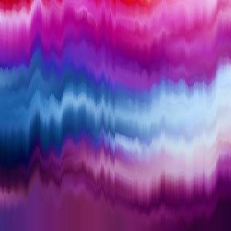 Векторный фон глюк. искажение данных цифрового изображения. хаос эстетики ошибки сигнала. цифровой распад.