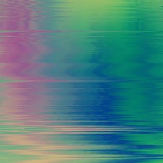 Векторный фон глюк. искажение данных цифрового изображения. красочный абстрактный фон для вашего дизайна. хаос эстетики ошибки сигнала. цифровой распад.