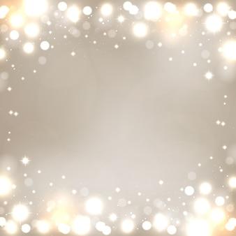 ベクトルゴールドボケ背景ゴールデンぼやけた焦点ぼけライト