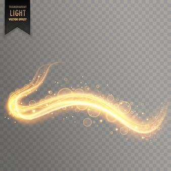 輝くベクトル黄金の曲線